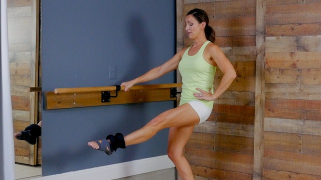 Barre with Ankle Weight Resistance I