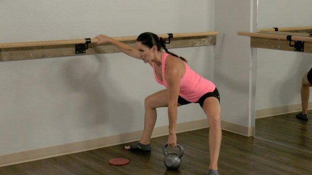 Free Workout: Iron Barre Lower Body