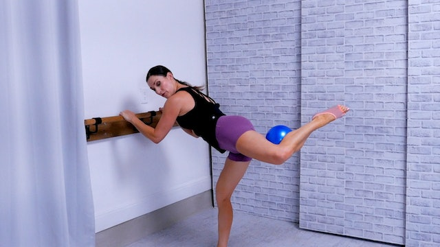 Barre Work: Lower Body VIII (ball)