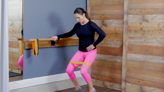 Barre with Resistance band: Lower Body I