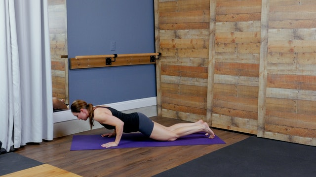 Modifications for Iron Barre Yoga Flow i