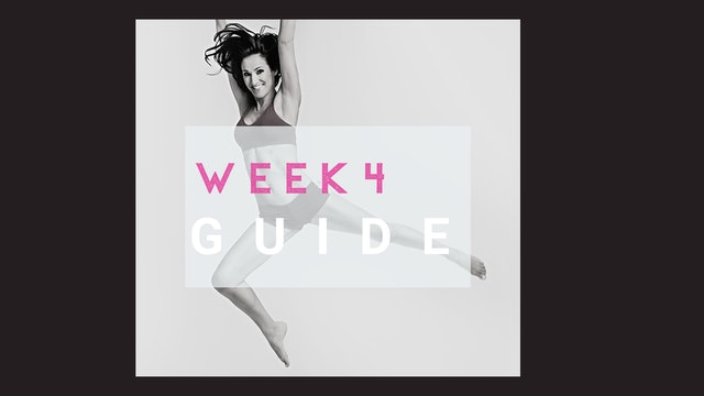 Jump Start Week 4 Training Plan (Subscribers)
