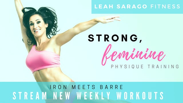 Leah Sarago Fitness Subscription
