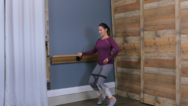 Barre Work- Lower Body I