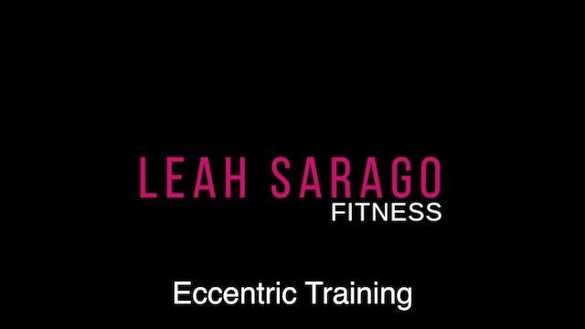 Ask Leah: Eccentric Training