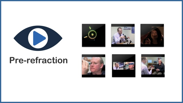 Pre-refraction procedures