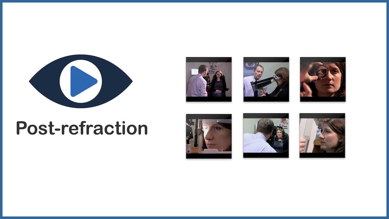 Post-refraction procedures