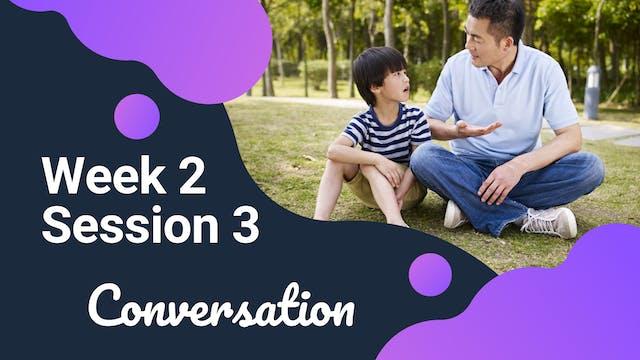 W2S3 Conversation