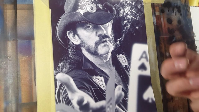 Airbrushing Lemmy (Part 1)