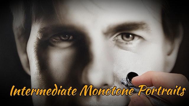 Intermediate Monotone Portraits (Part 1)