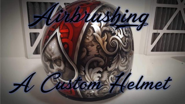 Airbrushing A Custom Helmet (Part 3)