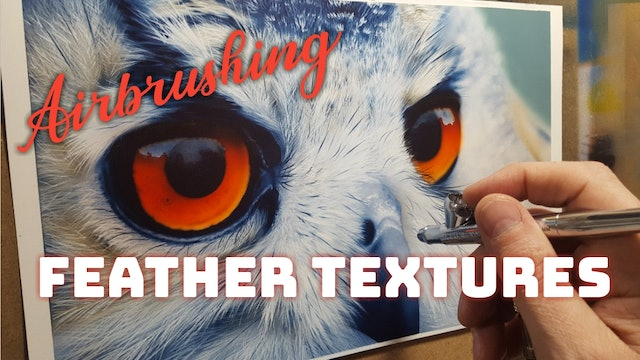 Airbrushing Feather Textures (Part 4)