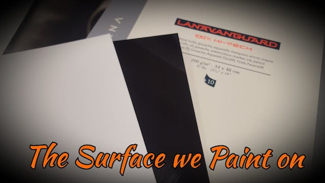 The Surfaces We Paint on