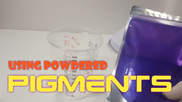 Using Powdered Pigments