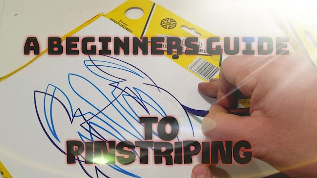 A Beginners Guide to Pinstriping