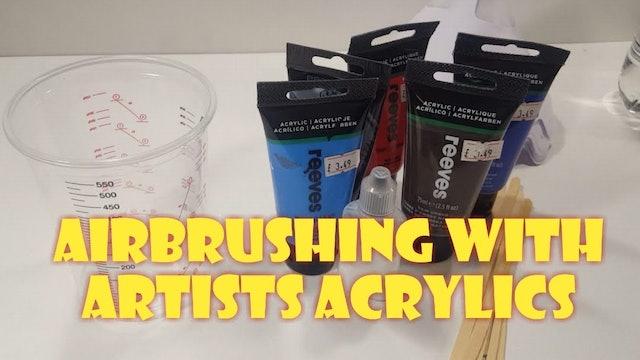 Using Artists Acrylics