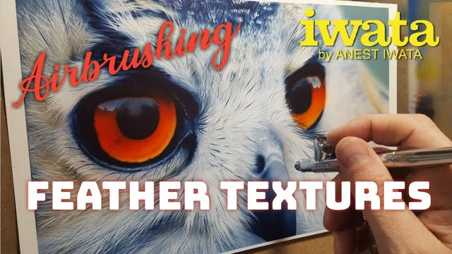 Airbrushing Feather Textures (Part 3)