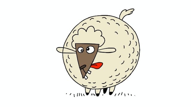 Learn To Draw Minis - Sheep