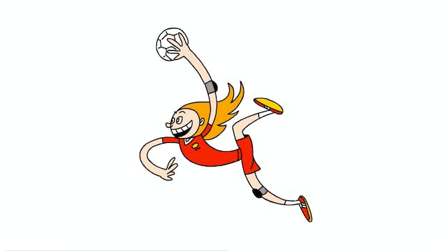 Learn To Draw Minis - Handball