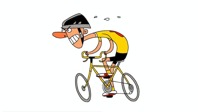Learn To Draw Minis - Cyclist