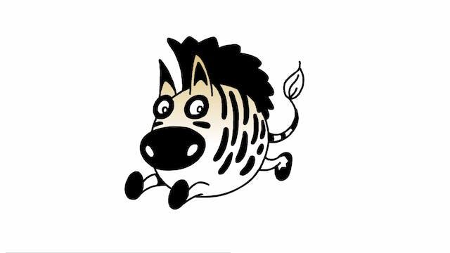 Learn To Draw Minis - Zebra
