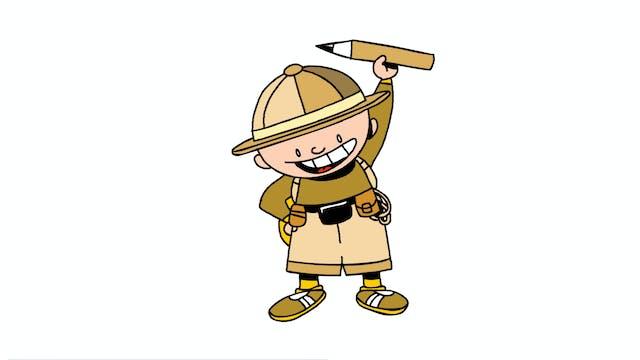 Learn To Draw Minis - Safari-Doodle