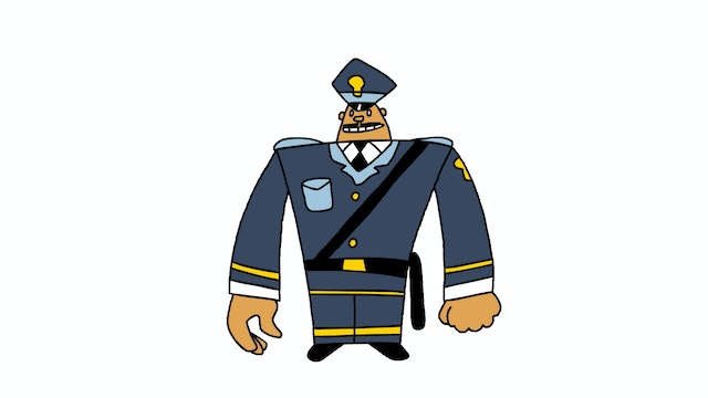 Learn To Draw Minis - Policeman