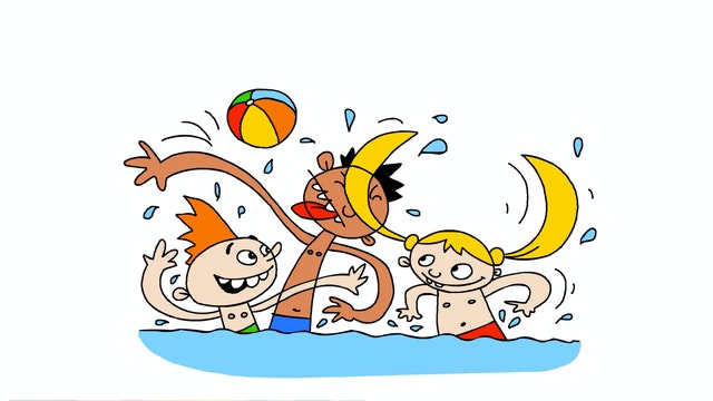 Learn To Draw Minis - Swimmers