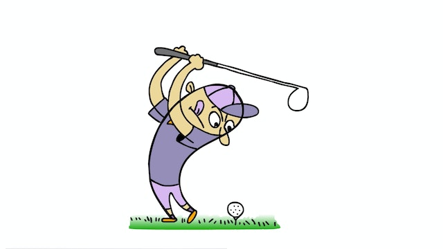 Learn To Draw Minis - Golfer