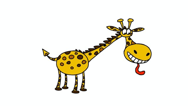 Learn To Draw Minis - Giraffe