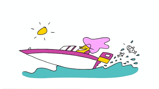 Learn To Draw Minis - Speedboat