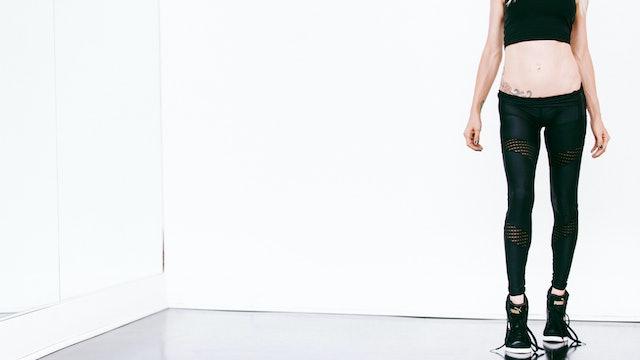 STANDING LEGS (w/glider)