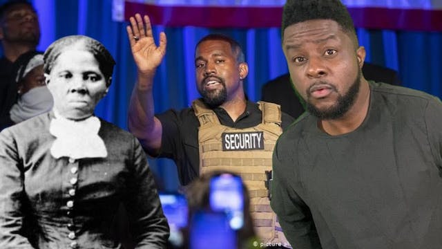 Kanye West says Harriet Tubman did no...