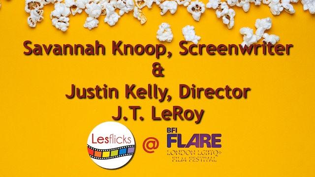 Interview Savannah Knoop and Justin Kelly re JT LeRoy