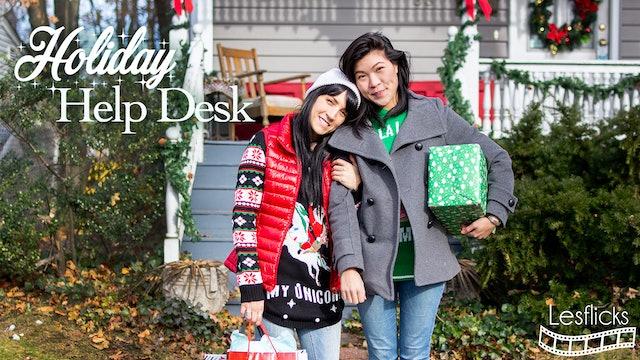 Holiday Help Desk Trailer