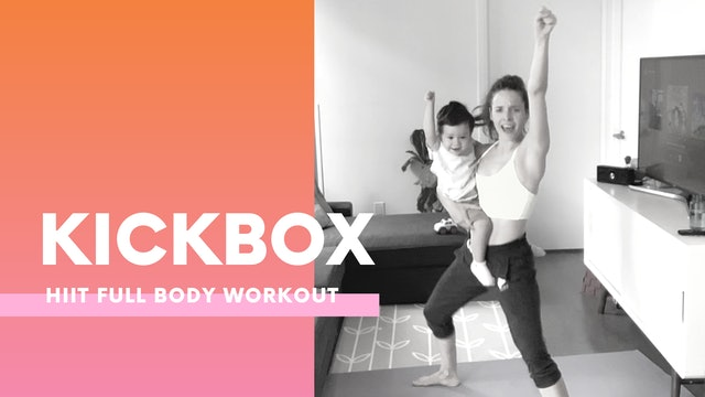KICKBOX - Intense low Impact workout