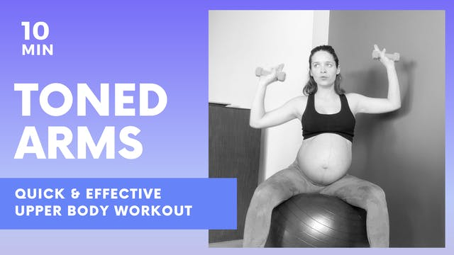 TONED ARMS - 10 MIN Quick & Effective...