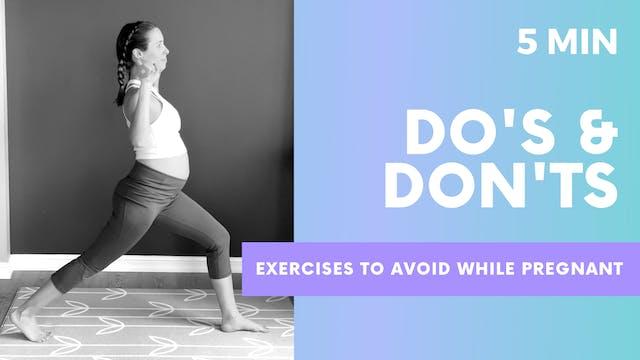 DO's & Don'ts - 5min Exercises to avo...