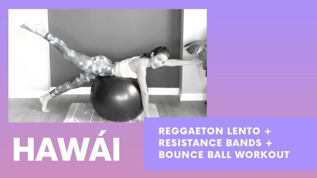 HAWAI - Bounce ball workout