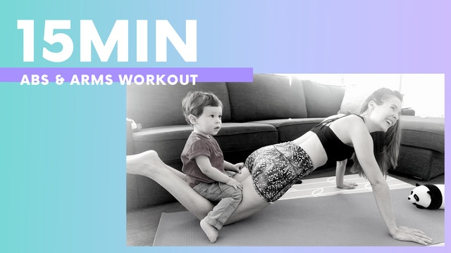 15 MIN - ABS & ARMS Workout