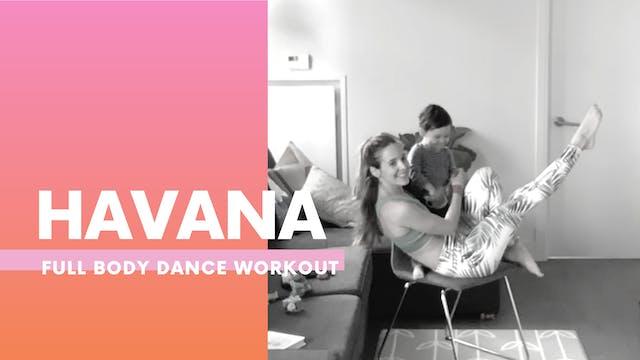 HAVANA - Chair workout