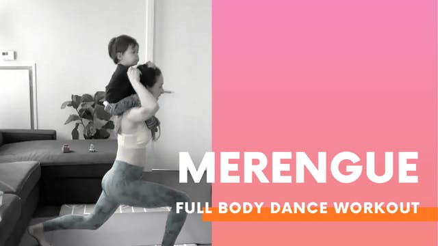 MERENGUE - 25min Full body dance workout