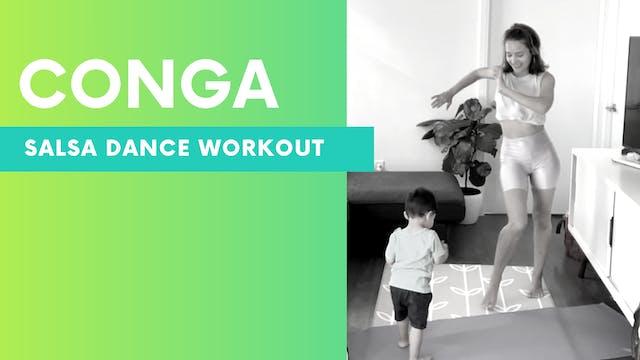 CONGA - Salsa dance workout