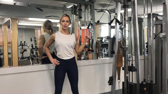 Single arm lat pull tutorial