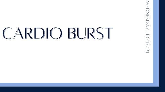 Cardio Burst (10-13-21)