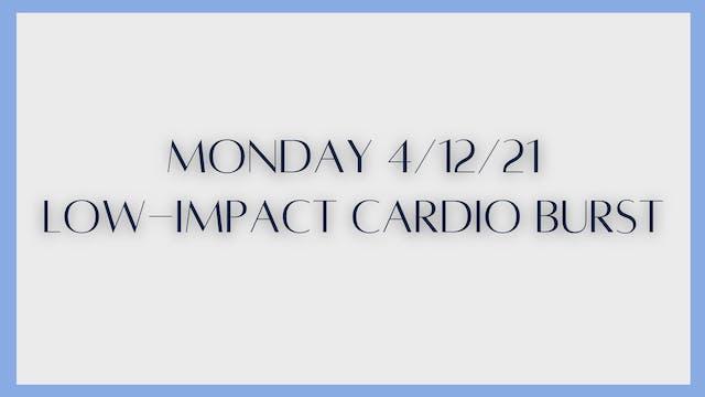 Low-Impact Cardio Burst (4-12-21)