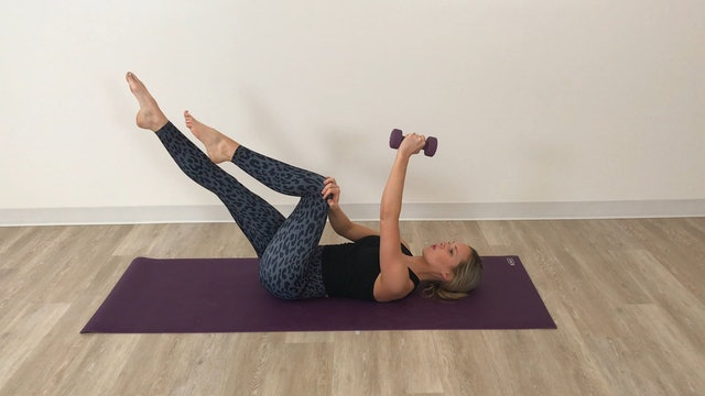 6 minute abs & upper back