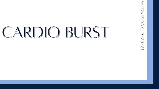 Cardio Burst (9-29-21)