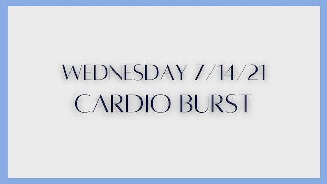 Cardio Burst (7-14-21)