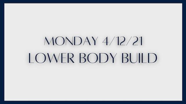Lower Body Build: Glutes & quads (4-1...